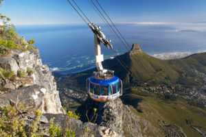 Table mountain Cable ride